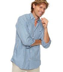camisa aqua scotfield san francisco 38 modelo clásico