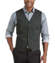 joe joseph abboud repreve® gray slim fit vest