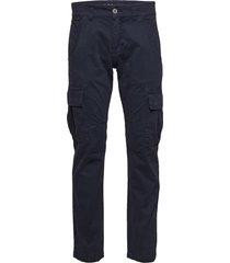 agent pant trousers cargo pants blå alpha industries