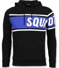 sweater enos trui met capuchon - e hoodie -