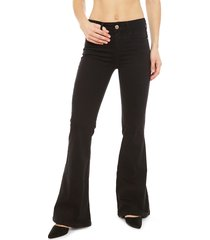 pantalón colcci negro - calce ajustado