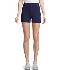 beatriz logo stretch shorts