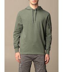 c.p. company sweatshirt hoodie c.p. company in cotton with logo