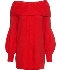 maglione con collo a ciambella (rosso) - bodyflirt