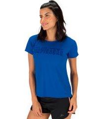 camiseta oxer inspiração + necessaire - feminina - azul