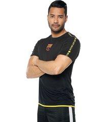 camiseta negro barcelona