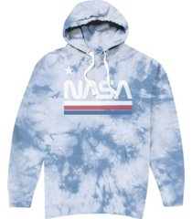 hybrid men's nasa tie dye hoodie