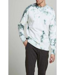 jack & jones men's tie-dye crewneck sweatshirt
