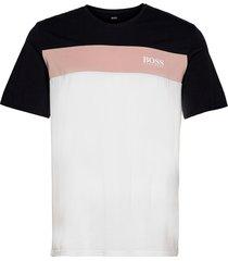 balance t-shirt rn t-shirts short-sleeved multi/mönstrad boss