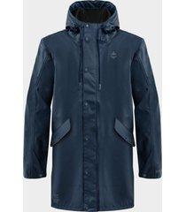 chaqueta vanira impermeable coat navy mujer- gnomo