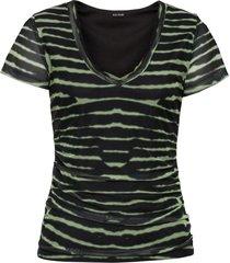 maglia con arricciature (verde) - bodyflirt