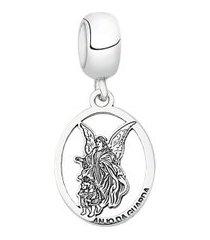 berloque de prata anjo da guarda moments
