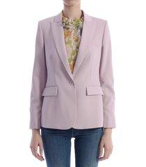 stella mccartney lilac blazer