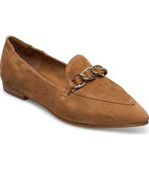 shoes 4503 loafers låga skor brun billi bi