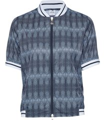 milou ss wind jacket outerwear sport jackets blå daily sports