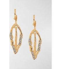 marni crystal-embellished drop earrings