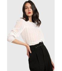 blusa blanco ambiance