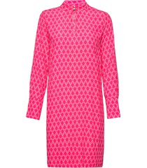 loganiw short dress korte jurk roze inwear