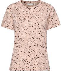 almaiw t-shirt t-shirts & tops short-sleeved rosa inwear