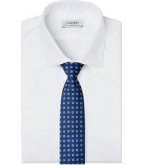 cravatta su misura, lanieri, blu optical, quattro stagioni | lanieri