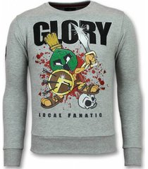 sweater local fanatic glory trui - marvin spartacus sweater -
