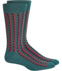 alfani men's shaded circle dot socks, created for macy's