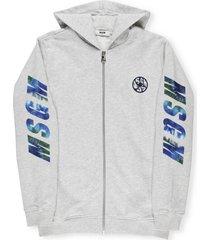msgm logo hoodie