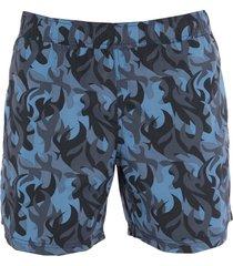 blauer swim trunks