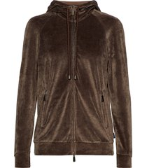 barocco hoodie trui bruin max mara leisure