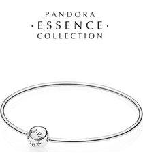 bracelete rígido essence collection de prata de lei