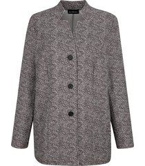blazer m. collection taupe::wit
