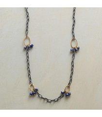 lapis trios necklace