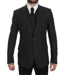 slim fit linen blazer