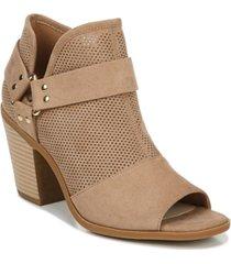 fergalicious augustine city peep toe booties women's shoes