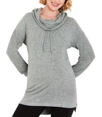 motherhood maternity cowlneck maternity sweatshirt