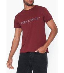 acqua limone t-shirt classic t-shirts & linnen bordeaux