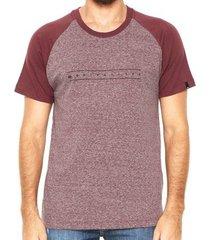 camiseta quiksilver especial raglan pack iii
