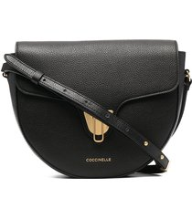 coccinelle beat soft crossbody bag - black