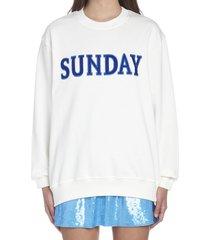 alberta ferretti raimbow week sweatshirt