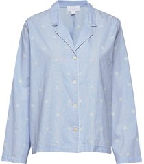 pajama shirt in poplin top gap