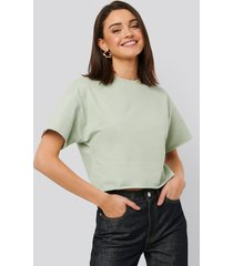 na-kd basic sweatshirt tee - green