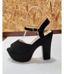tacones zapatillas de mujer zapato alto de moda femenina negros