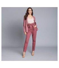 lez a lez - blusa com alças básica rosa secreto
