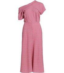 pout gingham dress