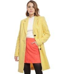 abrigo vero moda cindy rosa - calce regular