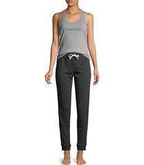 2-piece tank top & pajama pants set