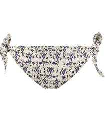 isabel marant printed bikini bottoms - neutrals