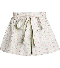 sana floral shorts