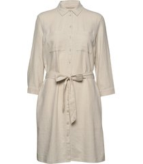 dresses light woven kort klänning beige esprit casual