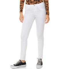 jean blanco nylon